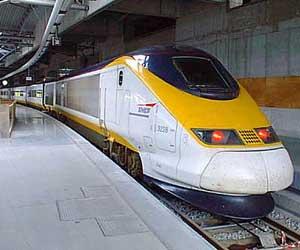 eurostar tren